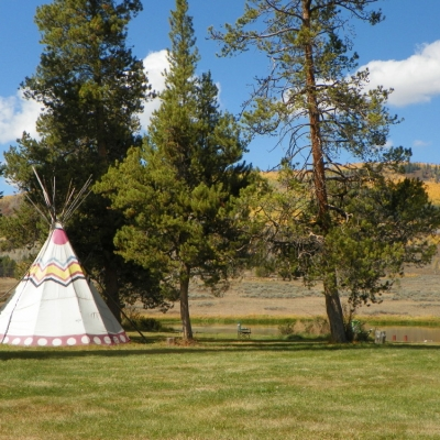 Camping at Flying Horse Ranch