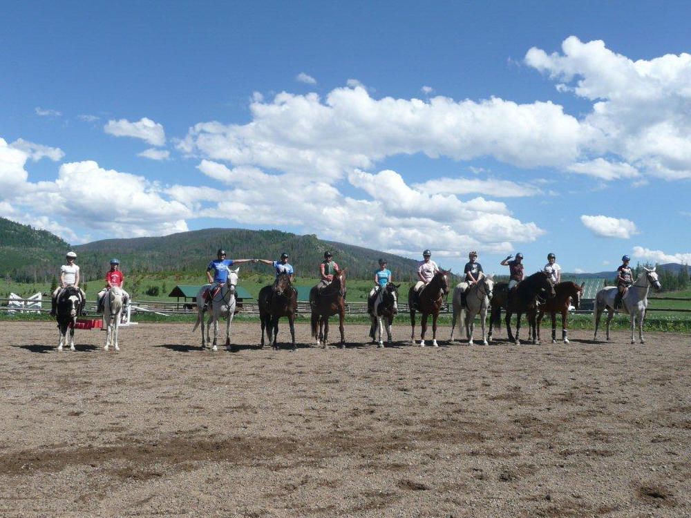 Grand Junction Pony Club At Flying Horse Ranch Colorado