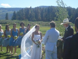 Wedding at Flying Horse Ranch in Colorado