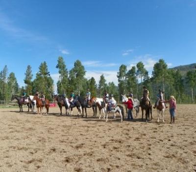 Jill Hinnenberg Clinic with Grand Valley Pony Club