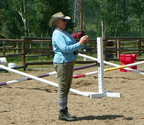 Deeda Randle 3-Day Eventing Clinic at Flying Horse Ranch in Oak Creek, CO.
