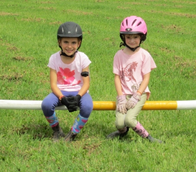 Eagle Valley Pony Club from the Vail Valley, CO visits Flying Horse Ranch